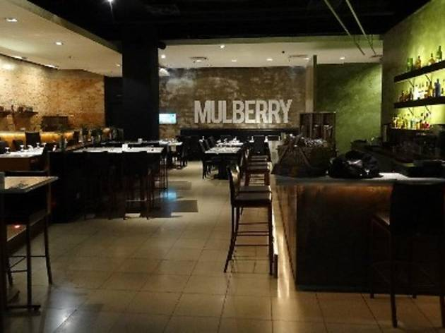Errazuriz Wine Dinner at Mulberry Restaurant
