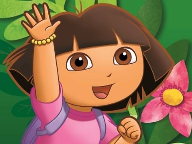 Meet Dora the Explorer at i-City