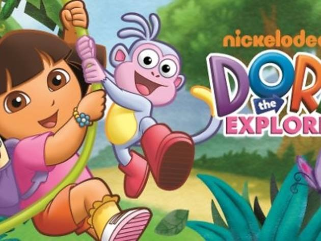 Dora the Explorer storytelling