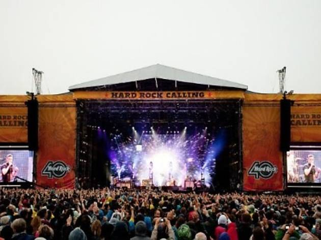Hard Rock Calling 2012 contest