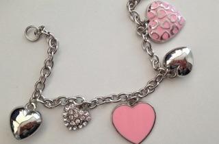 Guardian Pink Heart Campaign bracelet promotion