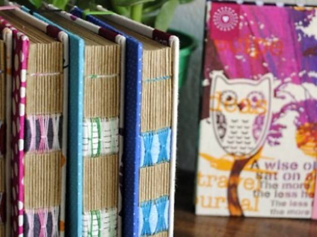 Zakka workshops: Stitch your own notebook