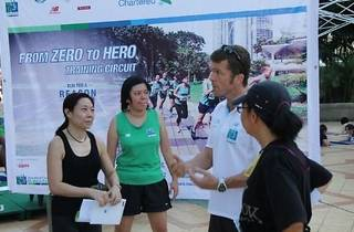 Standard Chartered KL Marathon training