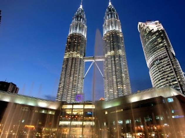 Earth Hour at KLCC