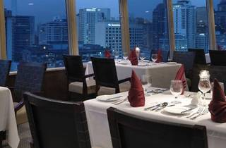 Asparagus promotion at Bintang Revolving Restaurant