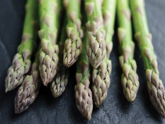 Asparagus promotion at Villa Danieli