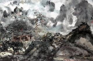 Re-Interpretation: Ink-and-Wash Paintings