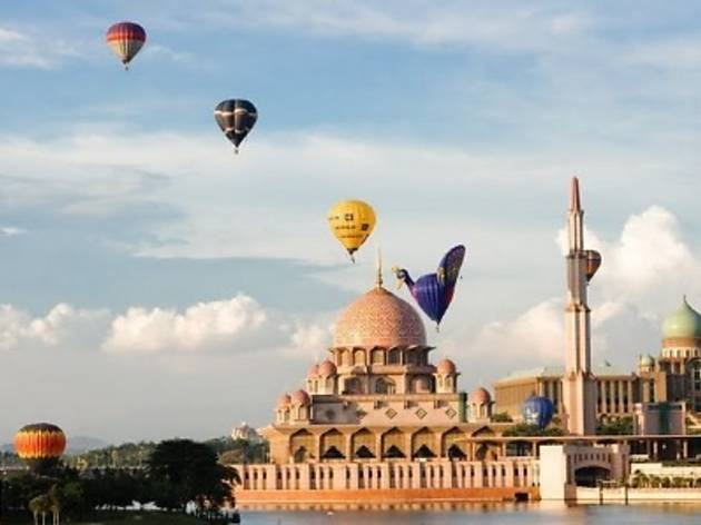 Putrajaya International Hot Air Balloon Fiesta 2012