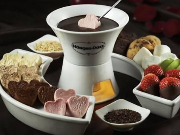 H�agen Dazs Valentine's specials