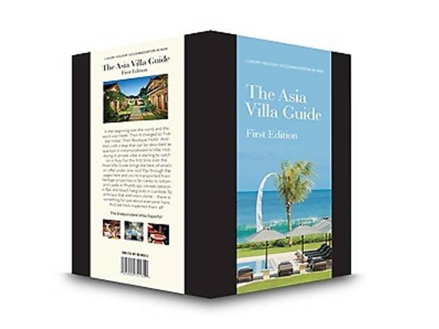 Times Bookstores The Asia Villa Guide promotion