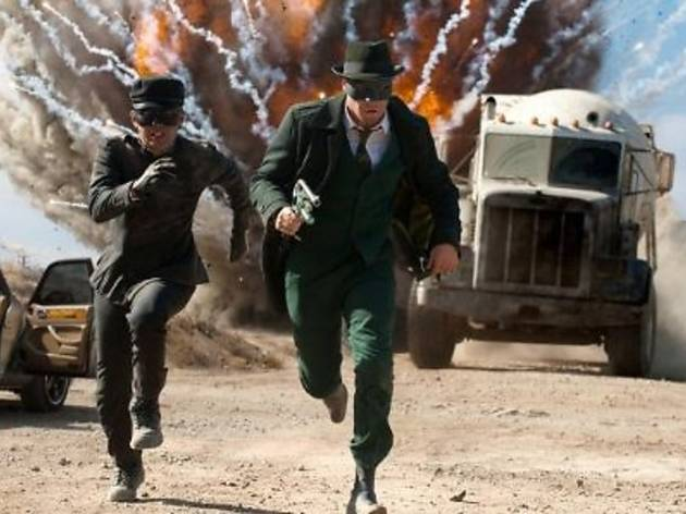 The Green Hornet on HBO