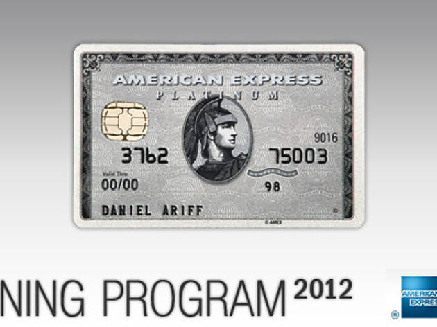 American Express Platinum Dining Program 2012