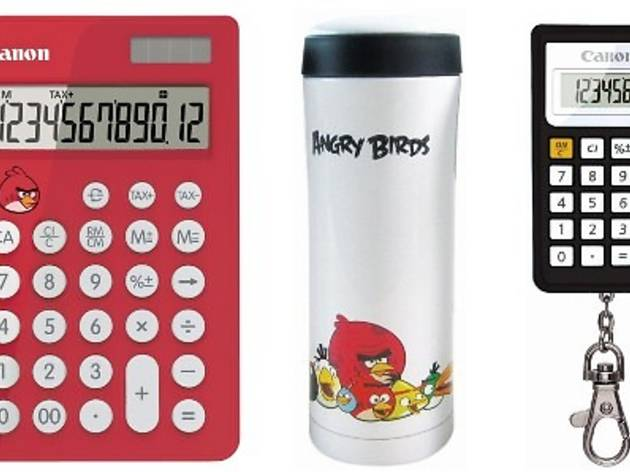 Canon Angry Birds promotion