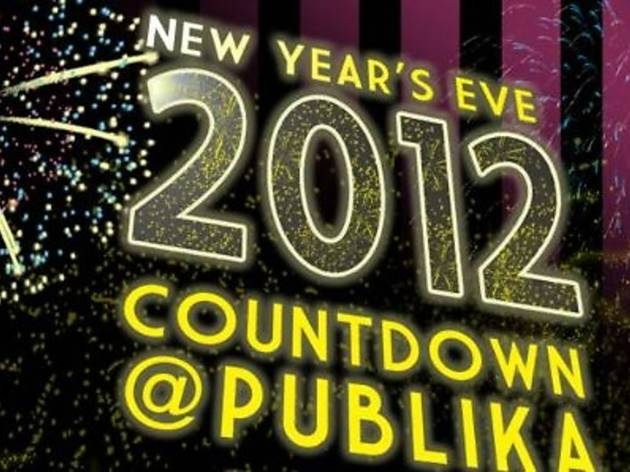 Publika New Year Countdown 2012