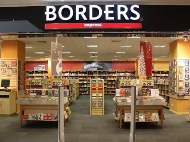 Borders The Gardens Mall 1