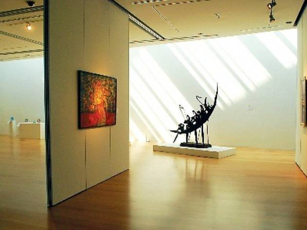 Discover local art in the Bank Negara Malaysia Museum and Art Gallery