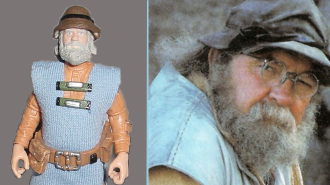 Wilford Brimley action figure