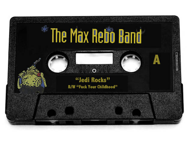 "Cassingle of ""Jedi Rocks"""