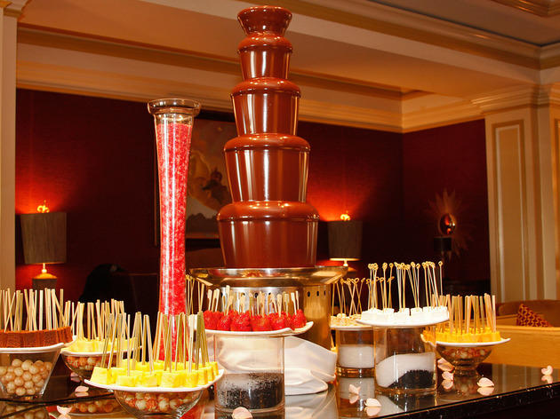 Best chocolate tea: The Lobby Lounge at The Langham Hotel Pasadena