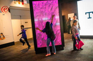 "IBM's ""THINK"" exhibit runs through fall 2014 at the Museum of Science and Industry.​"