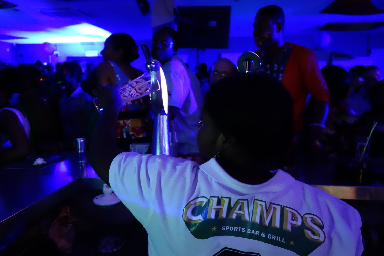Champs Sports Bar & Grill, Accra, Ghana