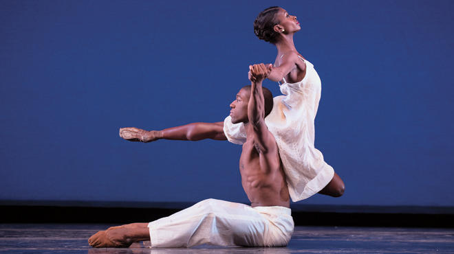 Ashley Murphy performs with Dance Theatre of Harlem