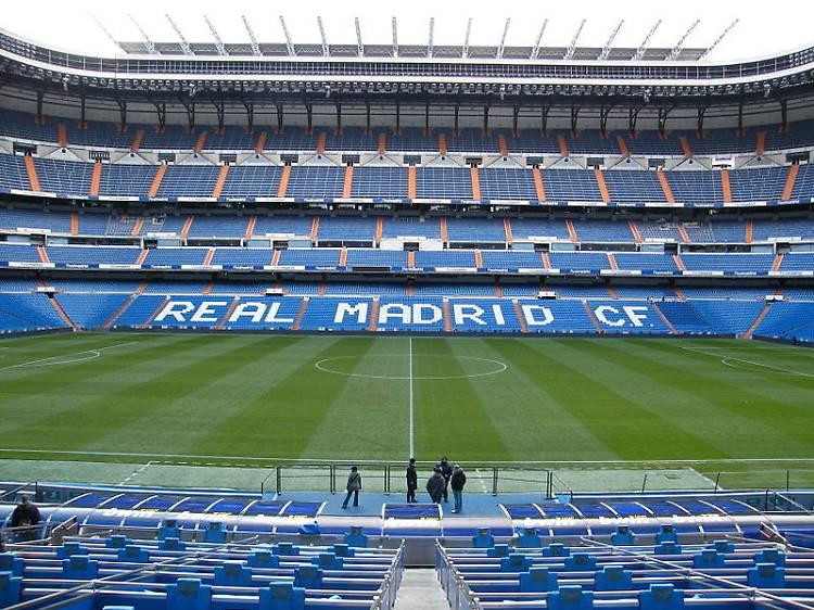 Apoya al Real Madrid en el Estadio Santiago Bernabéu