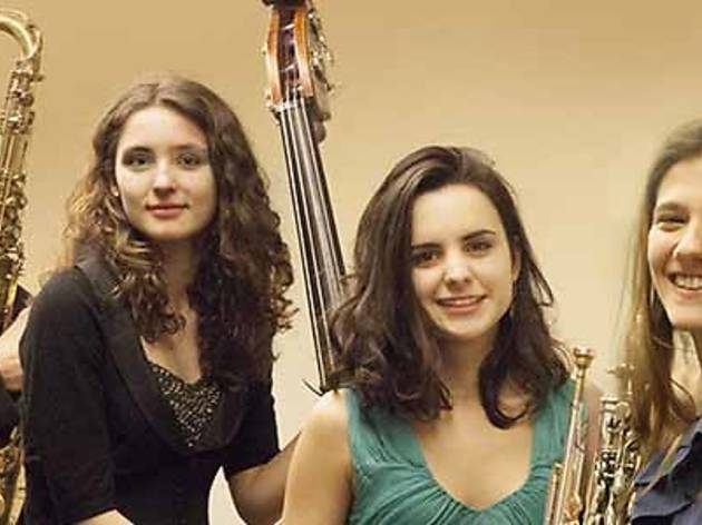 Joan Chamorro Quartet amb Magalí Datzira, Eva Fernández i Andrea Motis