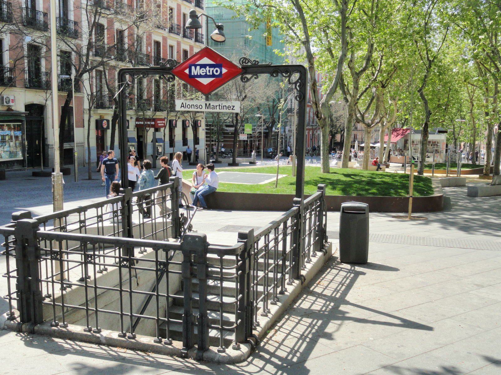 Madrid area guide the best of the barrios in the city centre - Libreria alonso martinez ...