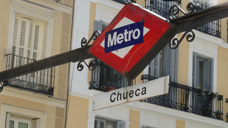 Metro de Chueca