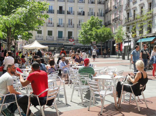 Chueca: the gay neighborhood in Madrid