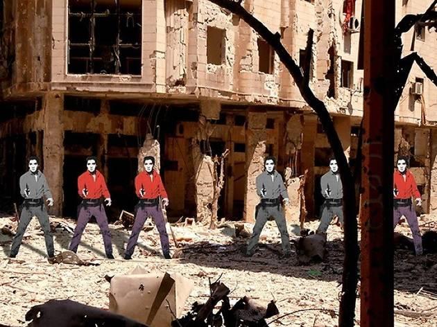 ('Syrian Museum - Elvis, Andy Warhol' / © Tammam Azzam / Galerie Ayyam)