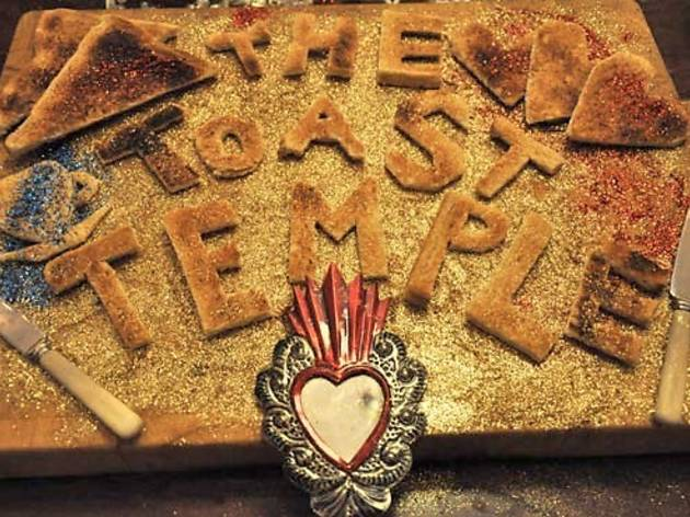 Come Worship at the Toast Temple
