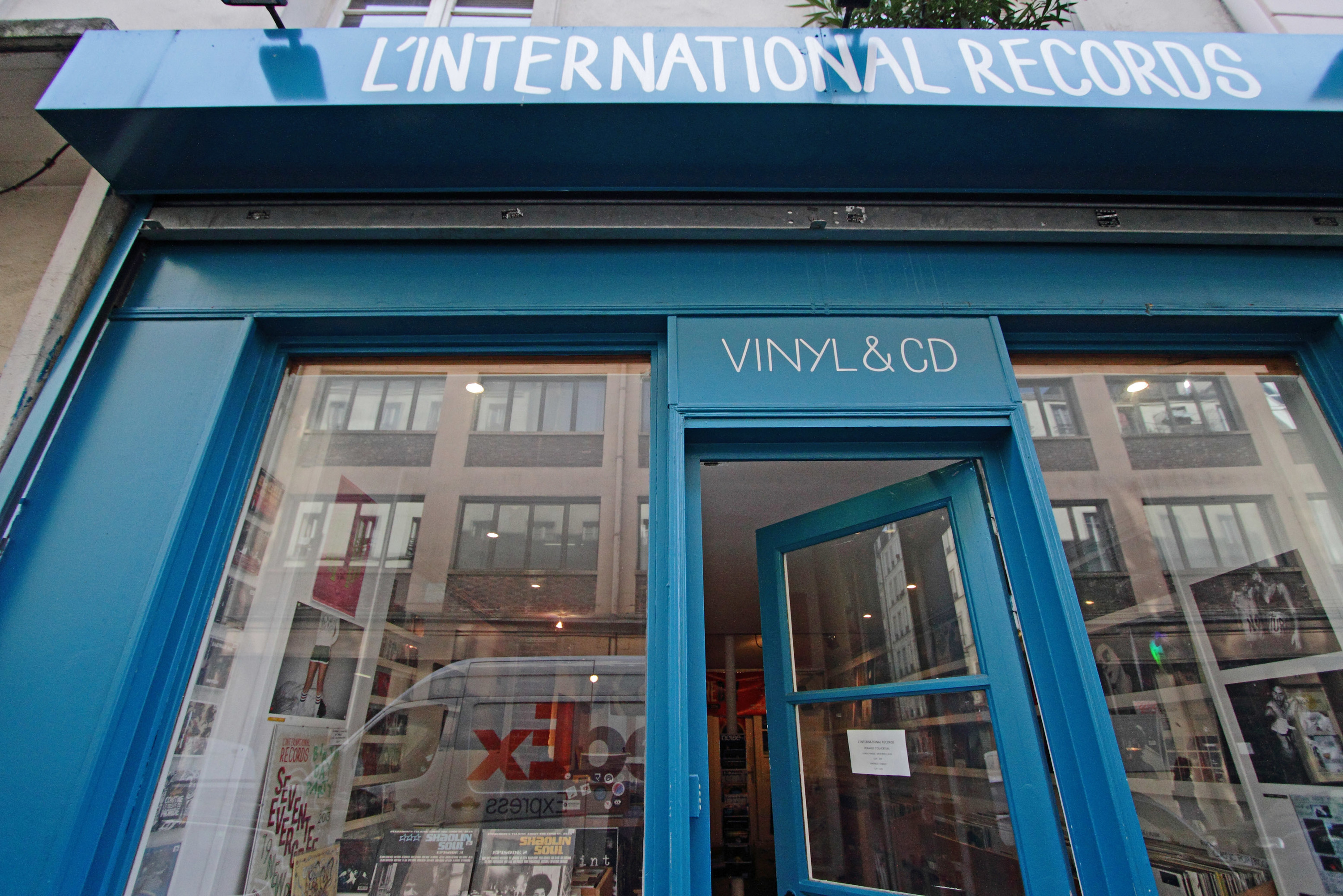 L'International Records Paris disquaire