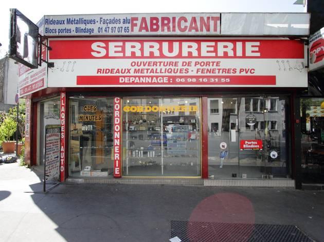 serrurerie bars à inventer Paris