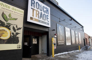 Rough Trade record store in NYC