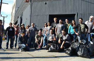 Silver Lake cleanup
