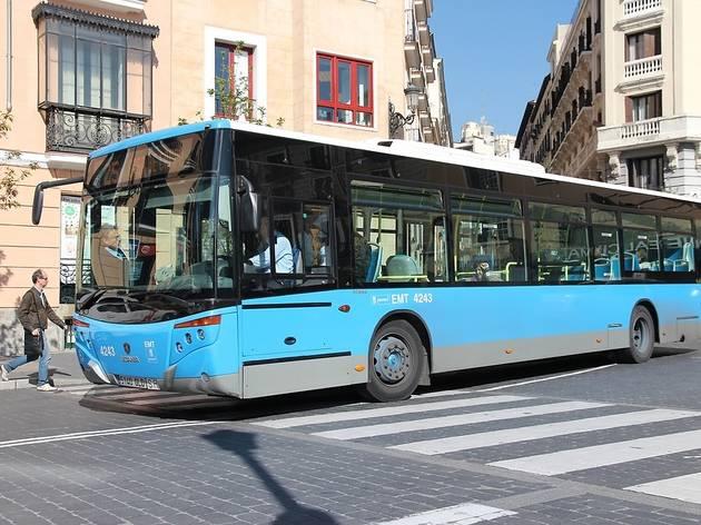 Autobús en Madrid