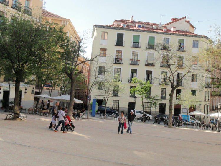 The squares of La Latina