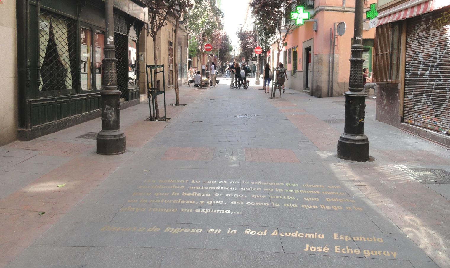 Buscar la huella de los genios de las letras castellanas en el Barrio de las Letras