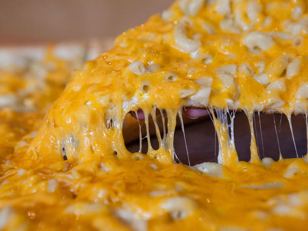 Dimo's Mac n' Cheese Pizza