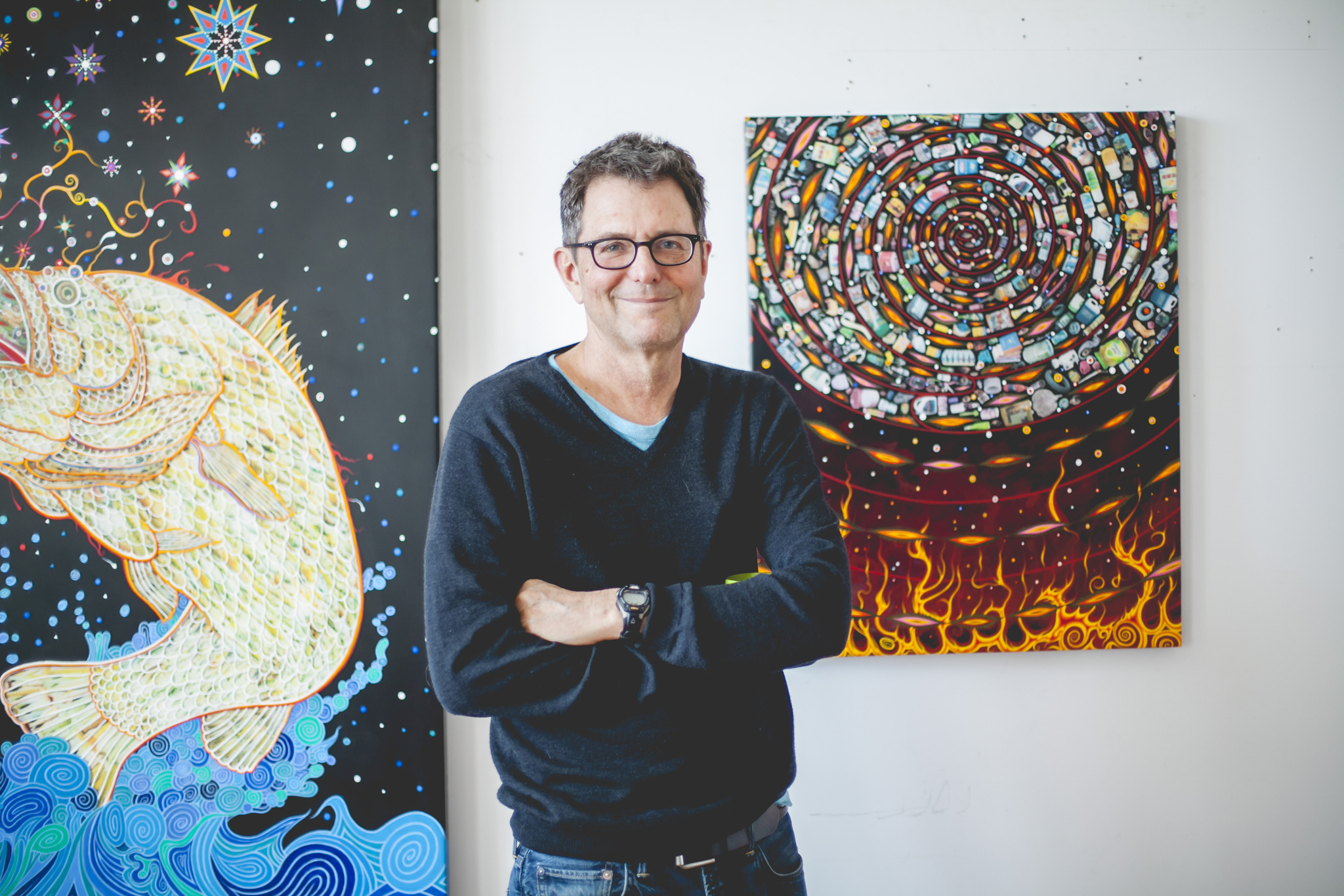 Fred Tomaselli Interview As A Collagist I M Basically A