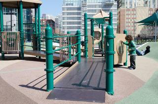 Erie Park located at 630 N. Kingsbury St.