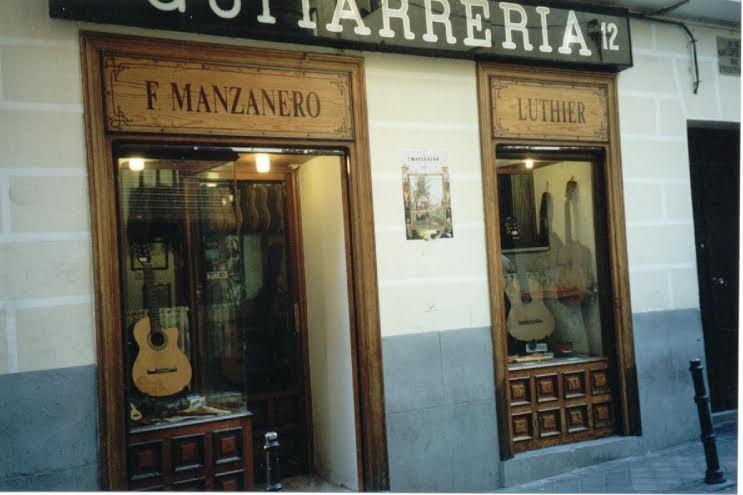 Guitarrería F Manzanero