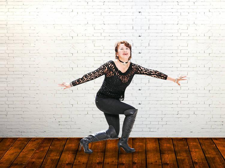 Irene Ramírez, bailarina en el Patrick Miller