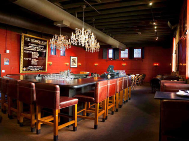 Buy one pizza, get the second for$5 at the Luggage Room