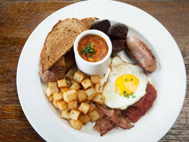 Full English Fry Up at Owen & Engine.