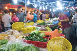 Taman Pertama night market