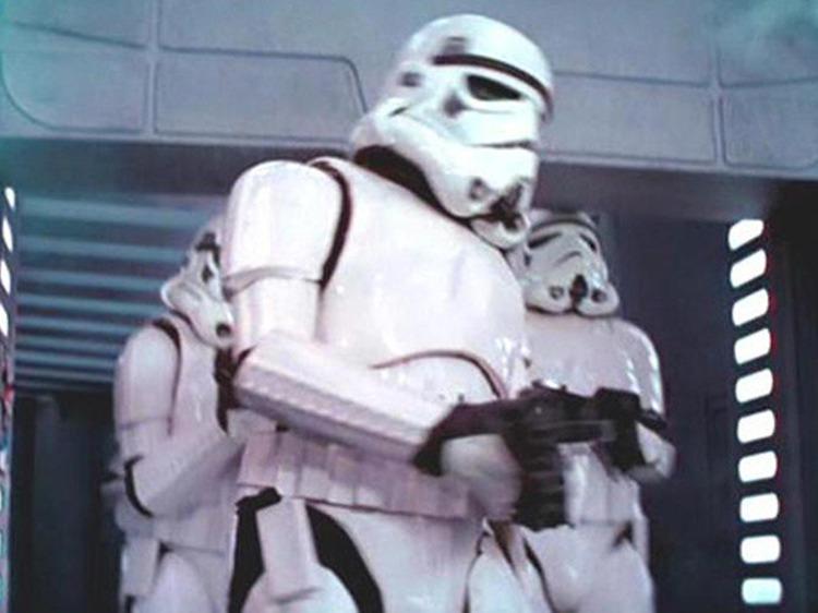 Stormtrooper desastrado