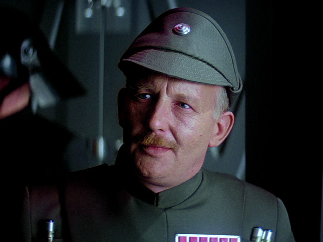 Admiral Ozzel, best Star Wars characters